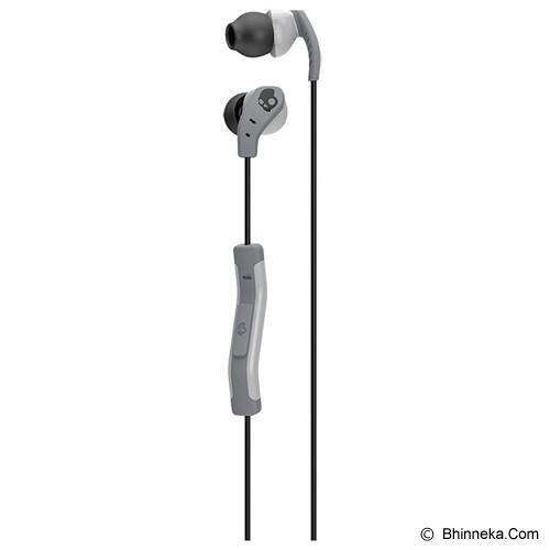 SKULLCANDY SC METHOD  W/ Mic 1 [S2CDGY-405] - Light Grey - Earphone Ear Monitor / Iem